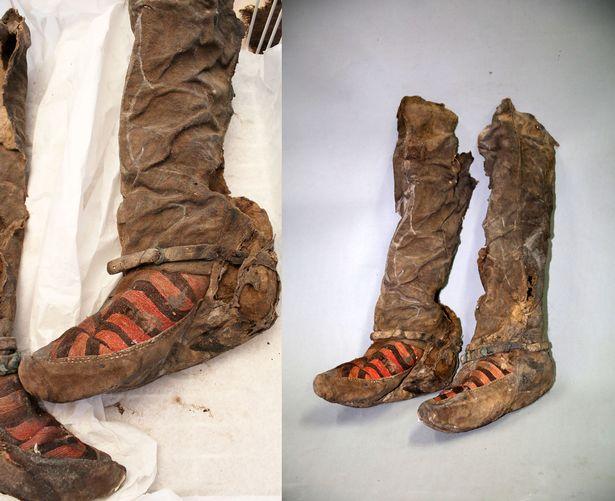 Encuentran los restos de una momia en Mongolia que usaba tenis Adidas