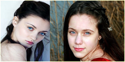 Black Hair and Blue Eyes - Most Common Hair and Eye Color Combination