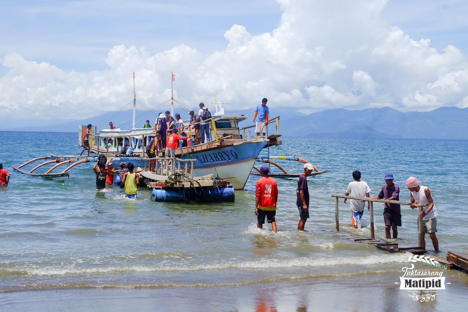 Alighting Passengers for Sabang
