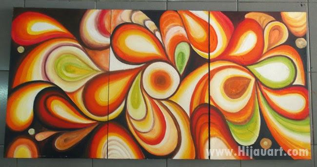 Lukisan Abstrak Hem: Lukisan Pemandangan, Abstrak