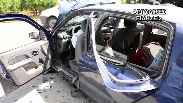 Αυξήθηκαν τα τροχαία ατυχήματα στην Πελοπόννησο τον Ιανουάριο