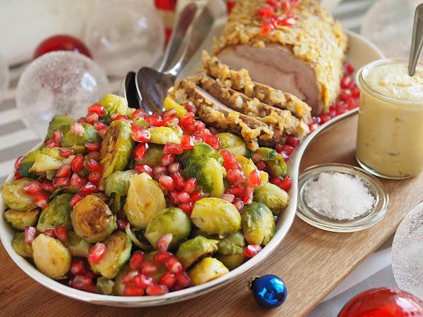 Joulun parhaat sinappireseptit ja rapeaksi kuorrutettua porsaanfileetä sekä jouluarvonta