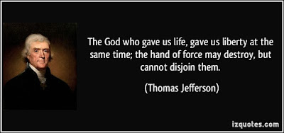 quotes about limited time: The god who gave us life, gave us liberty at the same time, the hand of force may destroy, but cannot disjoin them.
