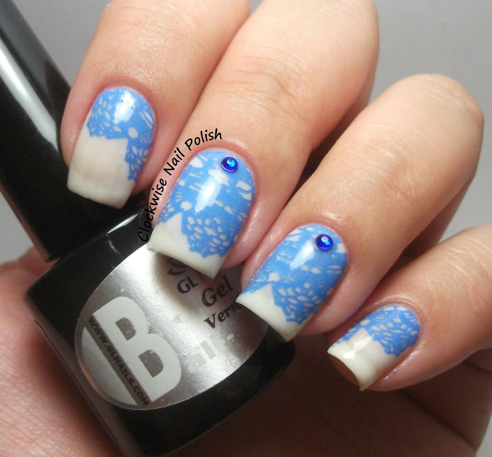 The Clockwise Nail Polish: GL Nails Um Presente Para A