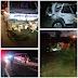 Acidente grave entre um carro e um micro-ônibus em Garanhuns