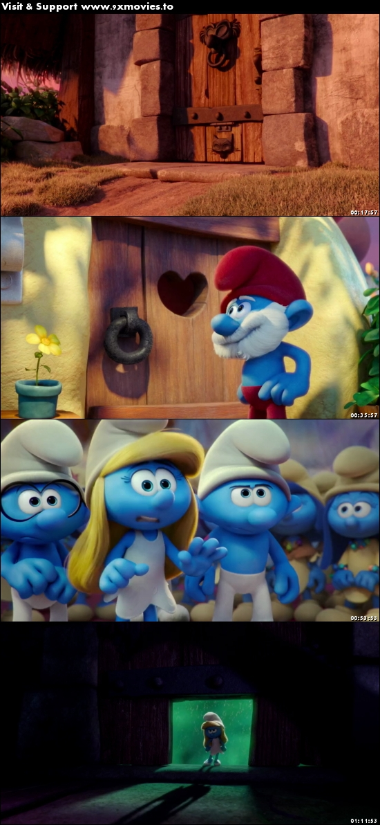 Smurfs The Lost Village 2017 English 720p WEB-DL 700MB ESubs