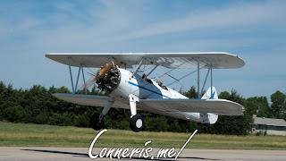 N3256A 1943 BOEING A75N1%2528PT17%2529 Takeoff 1