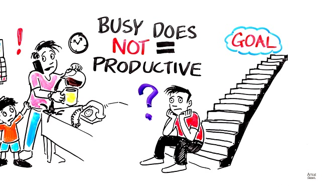 Are you busy or are you productive?
