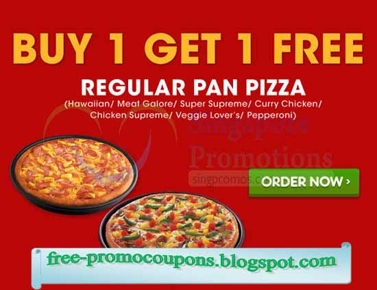 coupon codes for pizza hut march