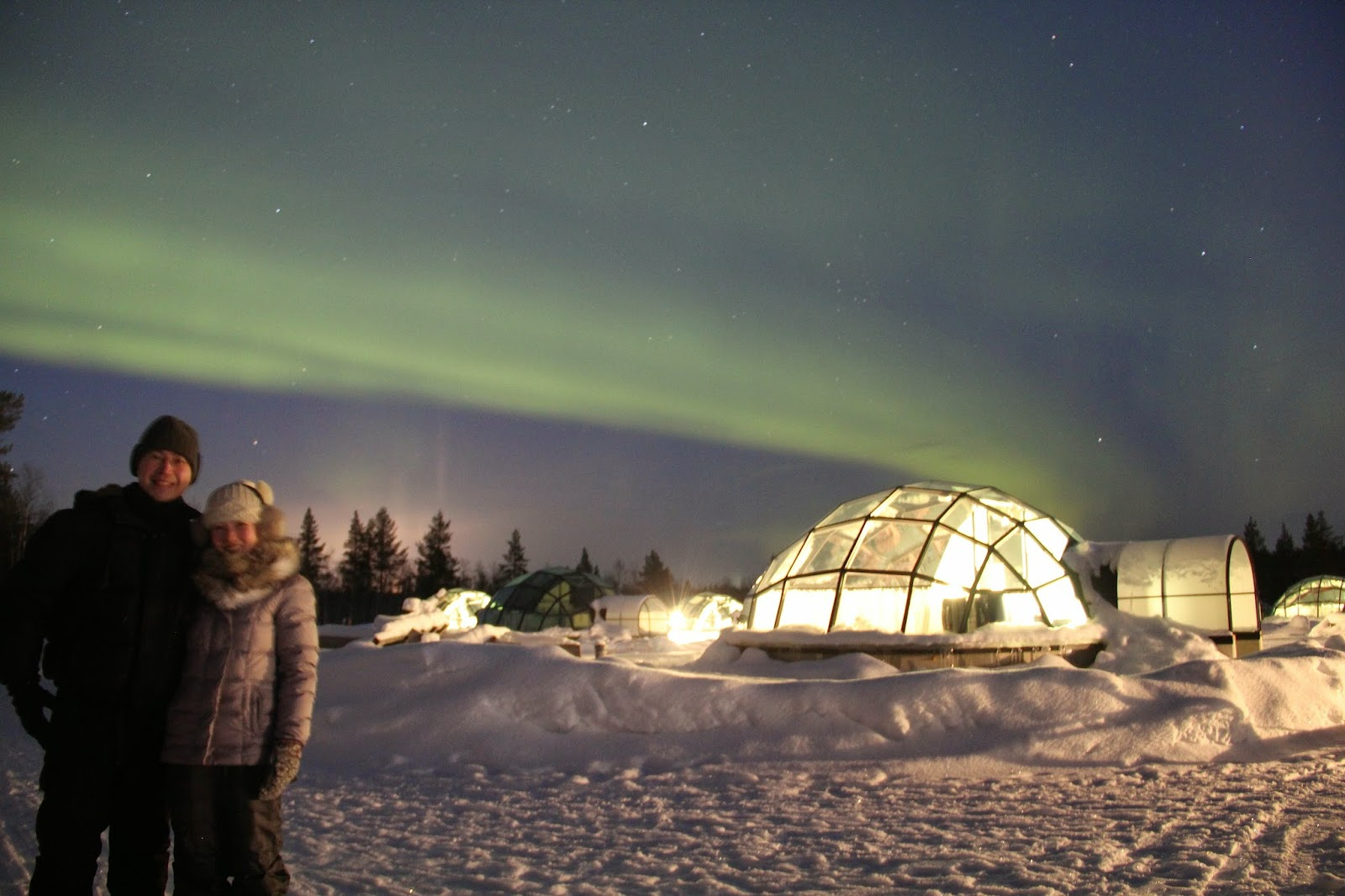 Aurora Borealis Igloo Kakslauttanen Finland