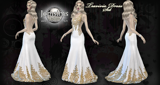 Travivia dress set click image to download womens clothing area on. http://www.jomsimscreations.fr WEBSITE