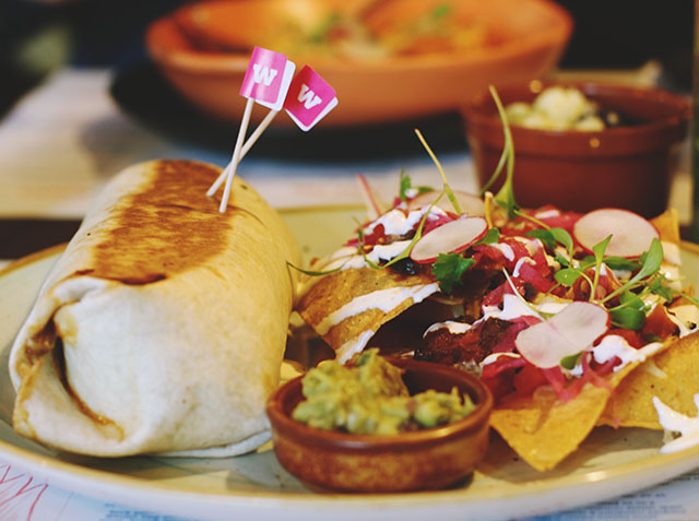 Wahaca Pimped Up Burrito