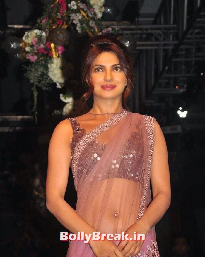 Priyanka Chopra, Pics of Manish Malhotra Show at Lakme Fashion Week 2014