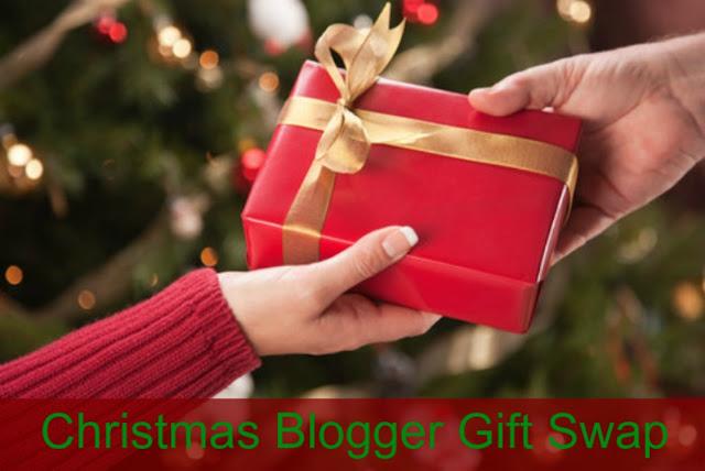 Christmas blogger gift swap