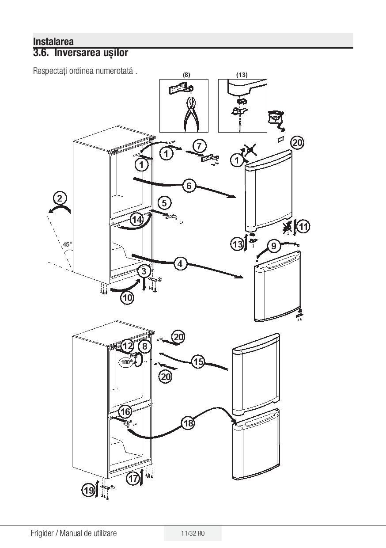Manual de utilizare BEKO RNCE520E20DZM, RNCE520E20DZX