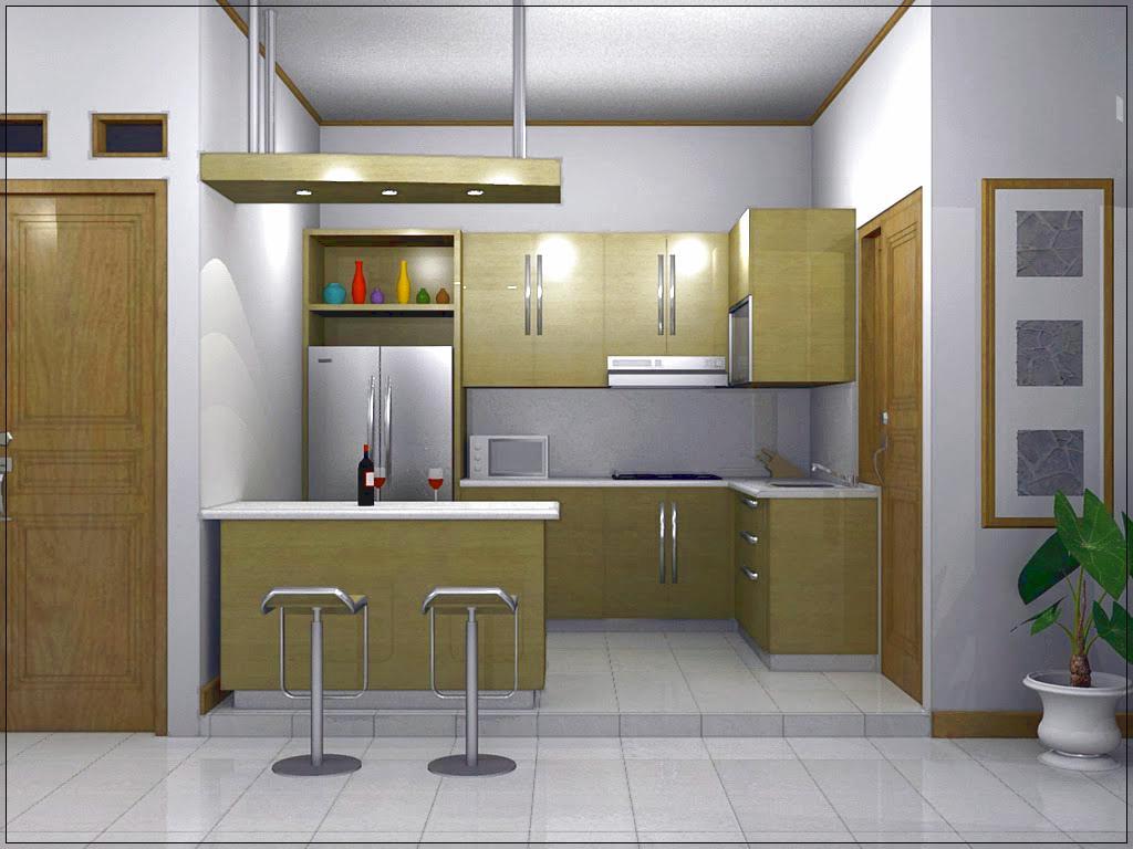 Dapur dan Ruang Makan Minimalis Menyatu Untuk Rumah ...