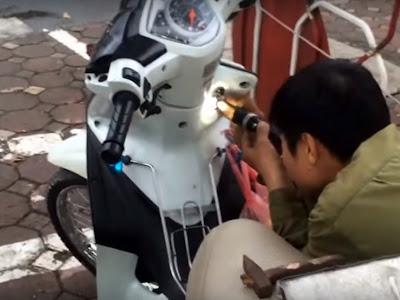 Dịch vụ Sửa Khóa Xe Máy Hà Nội Uy Tín Nhanh Chóng