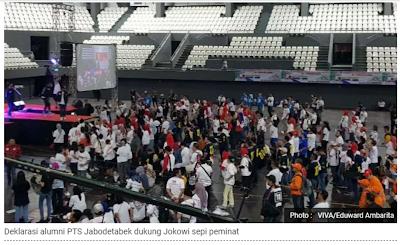 """Ternyata Bukan HOAX, Begini """"Kemeriahan"""" Deklarasi Alumsi PTS se Jabodetabek Untuk Jokowi-Ma'ruf"""