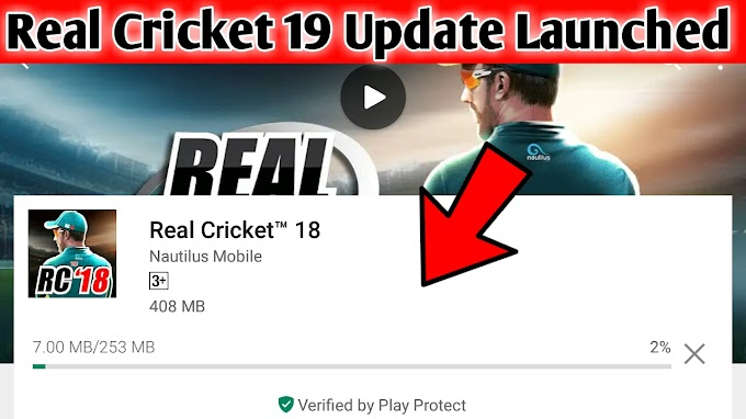 Real Cricket 19 Update