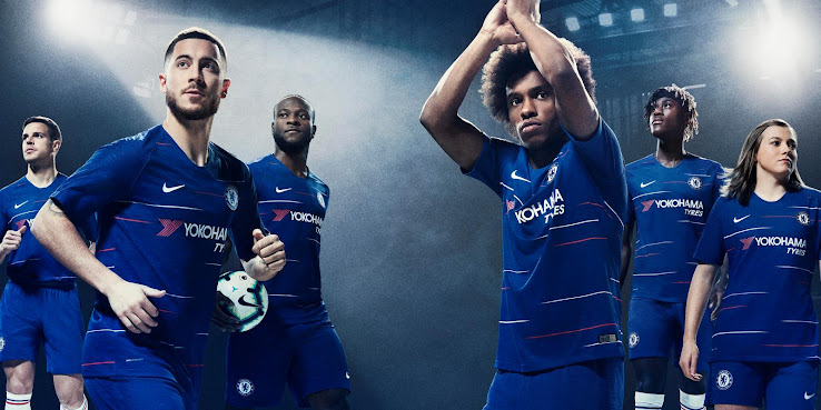 low priced 3b049 b8c10 Chelsea 18-19 Home Kit Released - Footy Headlines