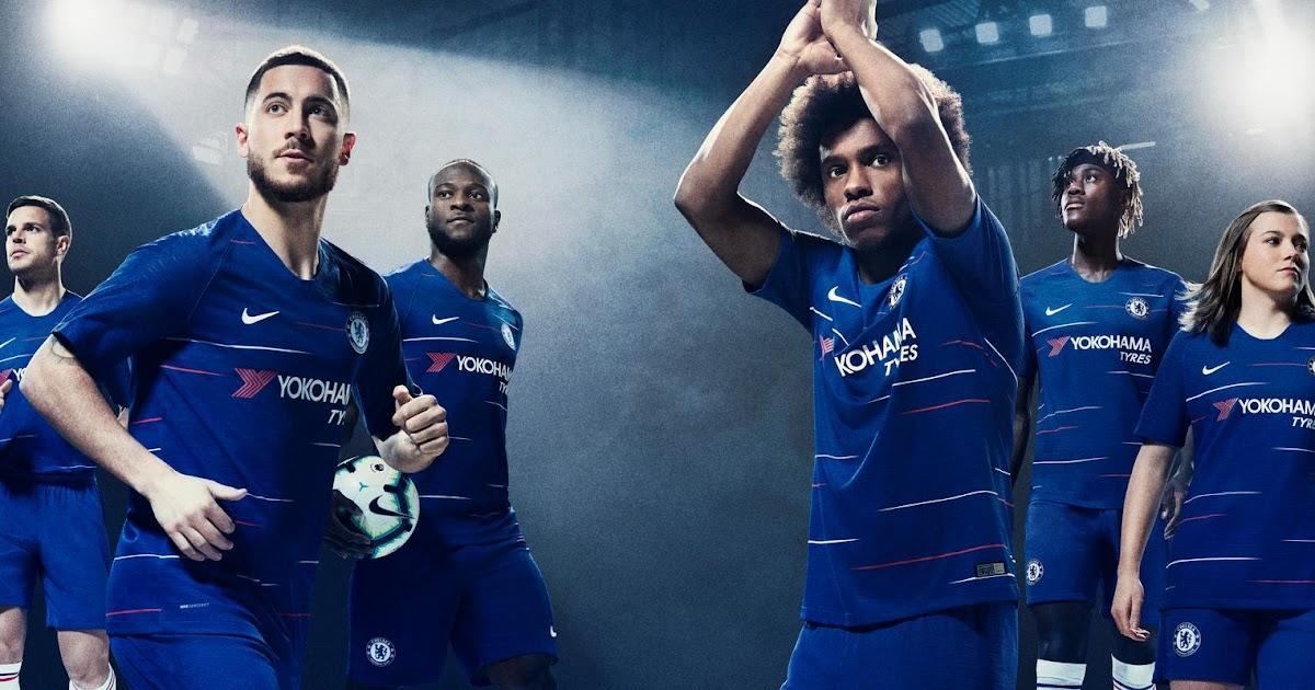 0ebd9207e Chelsea 18-19 Home Kit Released - Footy Headlines