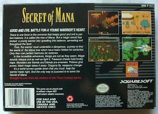Secret of Mana - Caja detrás