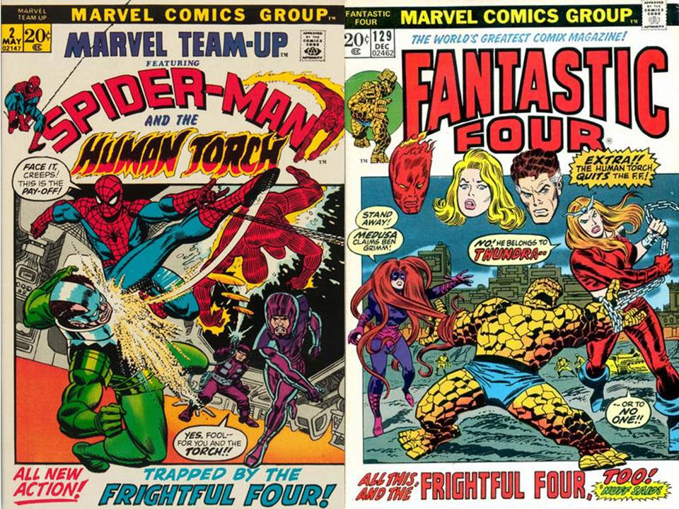 Dave's Comic Heroes Blog: Strange Tales of the Frightful Four