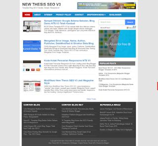 Template Blog Paling Ringan - Fastest Loading Blogger Templates