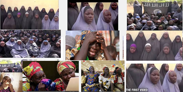 Chibok schoolgirls kidnapped two years ago A VIDEO released by Nigerian Islamist group Boko