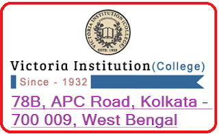 Victoria Institution College, 78B, APC Road, Kolkata - 700 009, West Bengal