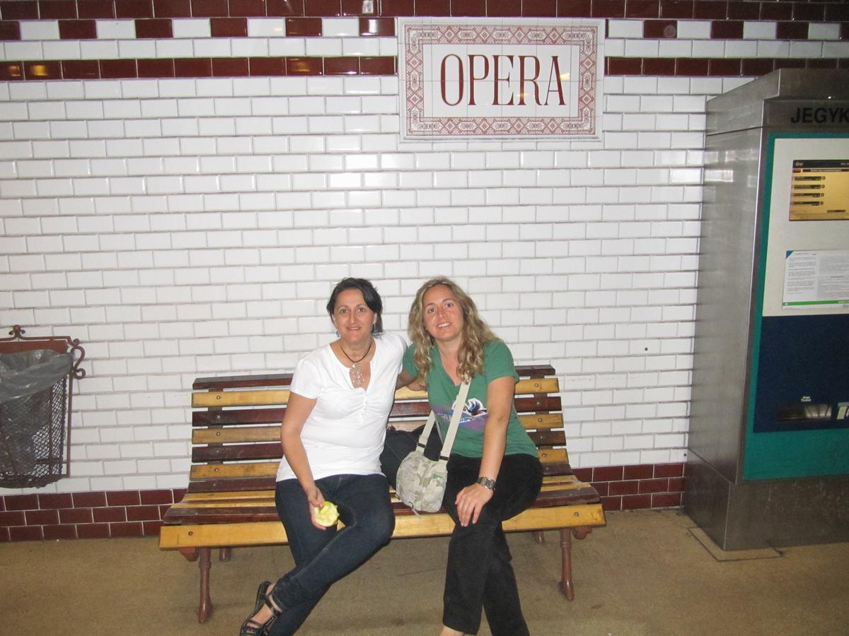 estación Ópera metro Budapest (línea amarilla)
