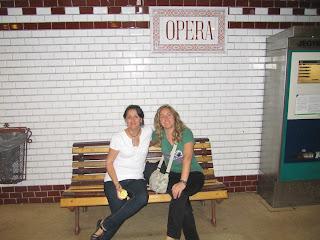 parada Opera, metro Budapest
