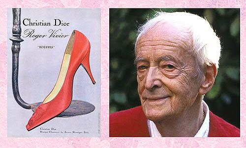 Roger Vivier desainer sepatu wanita hak tinggi