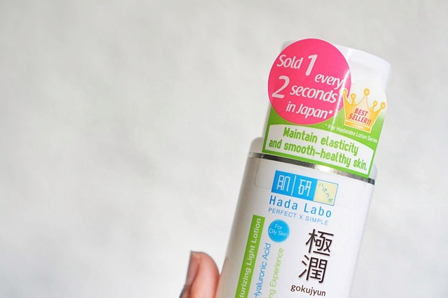 Review Hada Labo Gokujyun Ultimate Moisturizing Light Lotion