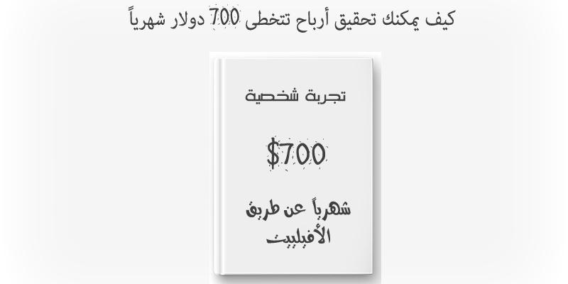 ربح المال من الانترنت - كيف تربح أكثر من 700 دولار شهرياً