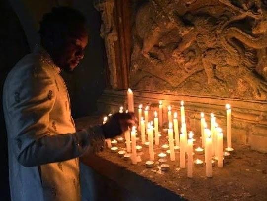 kcee ritual candle