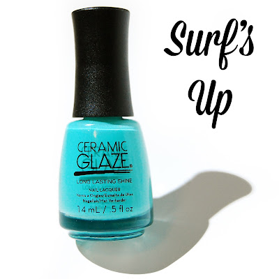 Ceramic Glaze Botanical Oasis Surf's Up