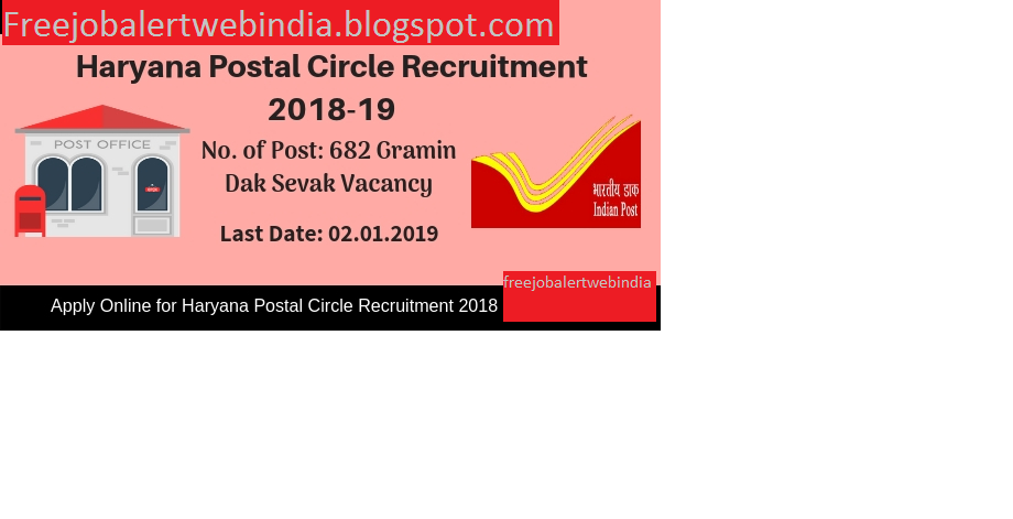 Fresher Haryana Recruitment 2019 –10 pass freejobalert 682