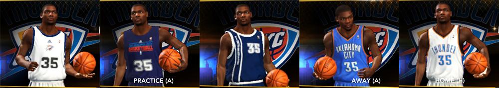 promo code 7ccd3 35782 NBA 2K13 Oklahoma City Thunder Jersey Pack - NBA2K.ORG