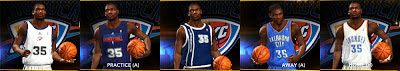 NBA 2K13 OKC Thunder All Jersey Patch