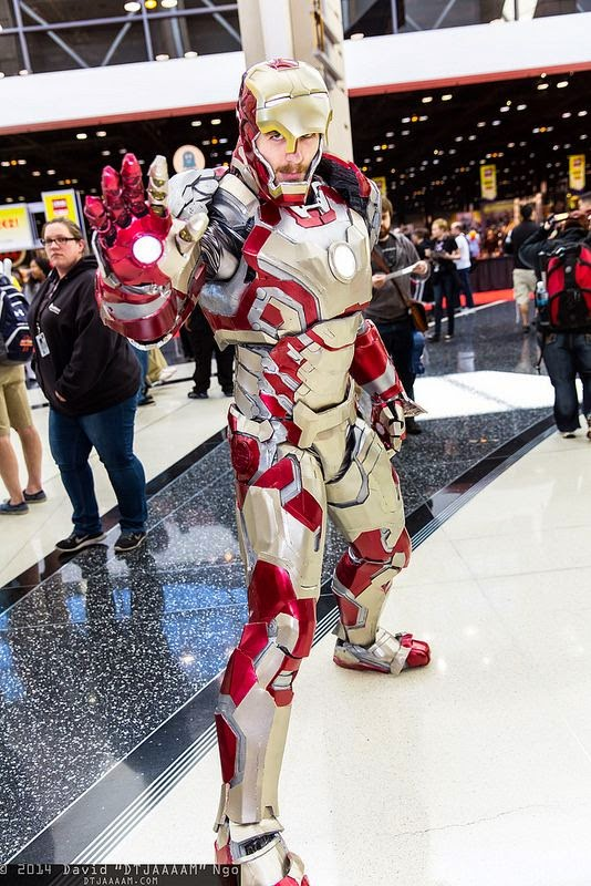 cosplay iron man comic con