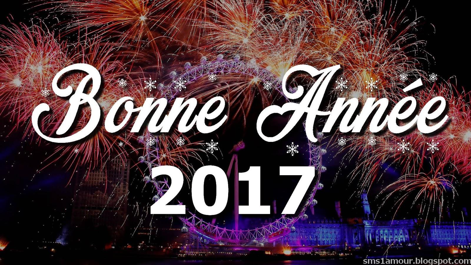 message bonne annee 2017