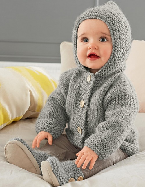 Hooded Coat - Free Pattern