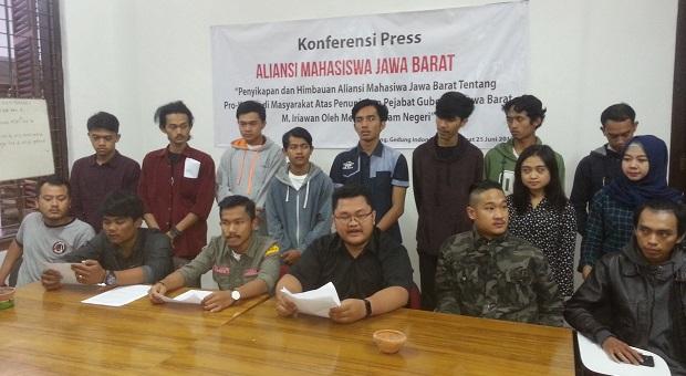 Aliansi Mahasiswa Jawa Barat Mendukung Pj Gubernur Jabar