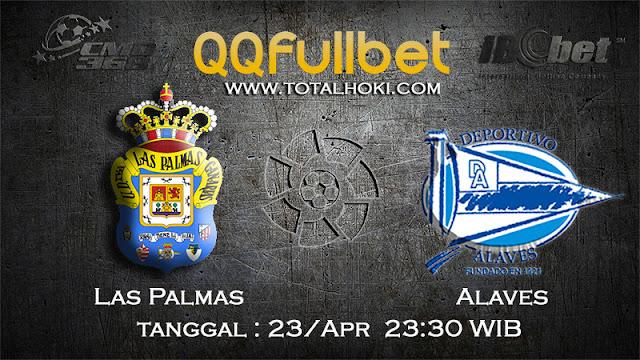 PREDIKSIBOLA - PREDIKSI TARUHAN LAS PALMAS VS ALAVES 24 APRIL 2017 (LA LIGA SPANYOL)