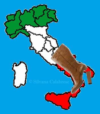 L'Italia invecchia. È un vecchio stivale col tacco rotto