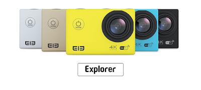 Spesifikasi ELE Explorer Action Cam - GudangDrone