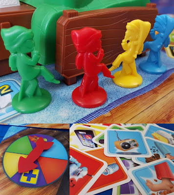 Electronic Sshh! Don't Wake Dad! Family Board Game Review age 5+