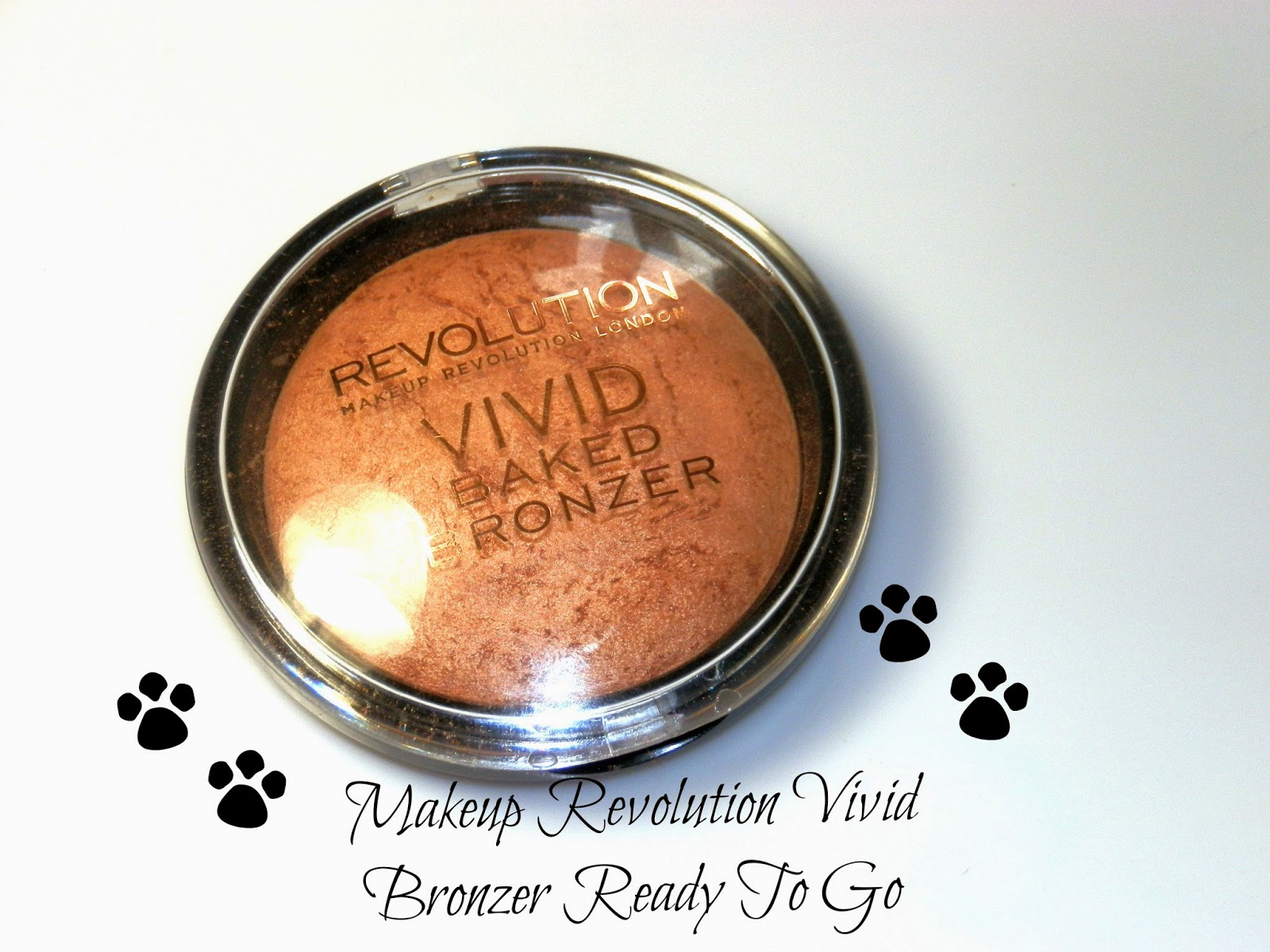Makeup Revolution Vivid Bronzer Ready To Go Swatches
