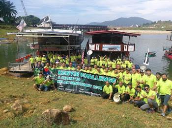 Percutian Menarik Atas Houseboat Di Tasik Kenyir, Terengganu